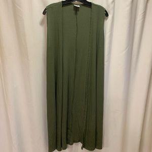 Layering Vest - Green Green Green
